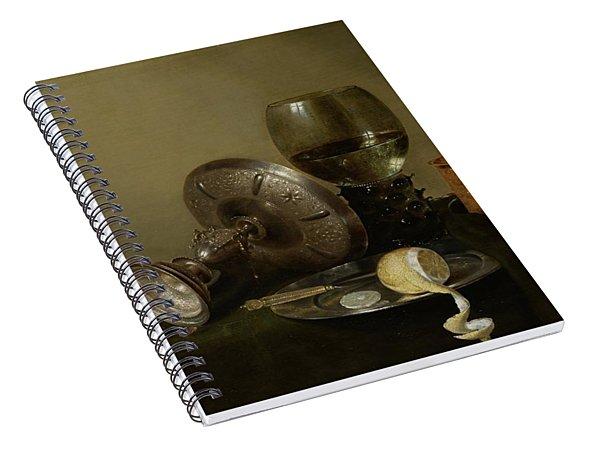 Still Life With A Gilt Cup Spiral Notebook