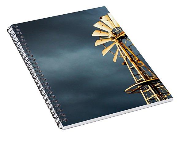 Stormy Skies Spiral Notebook