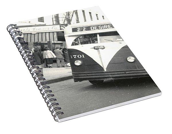 Streetcar Named Desire Spiral Notebook