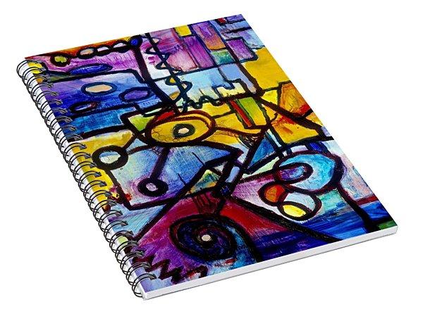 Suburbias Daily Beat Spiral Notebook