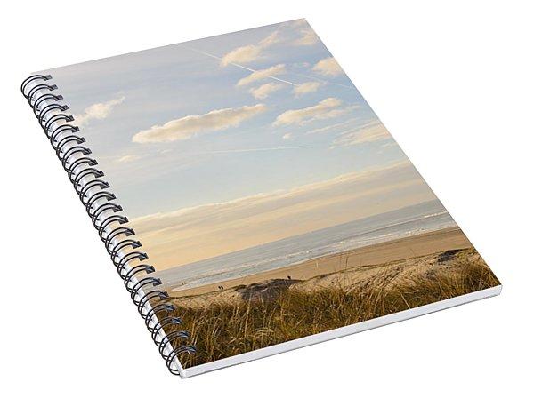 Summer Evening At The Coast Spiral Notebook
