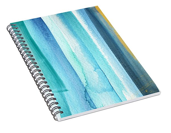Summer Surf- Abstract Painting Spiral Notebook