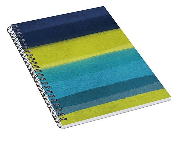 Sun And Surf Spiral Notebook