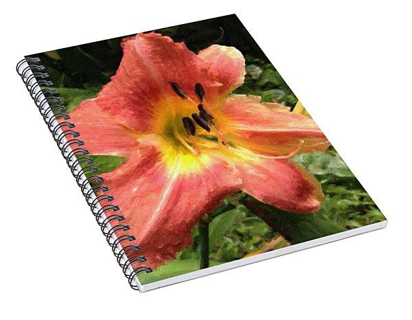 Sun Day Lilly  Spiral Notebook