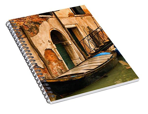 Sunday In Venice Spiral Notebook