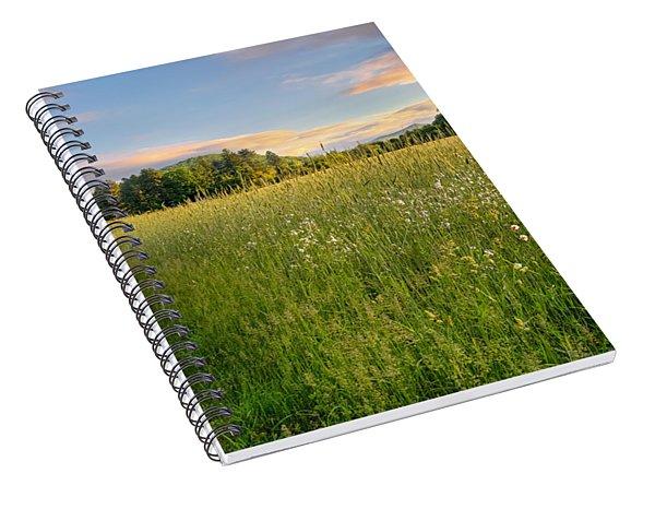 Sunny Valley Sunrise Spiral Notebook