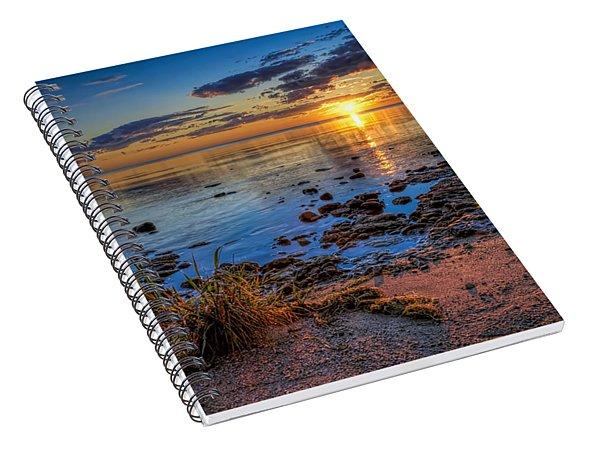 Sunrise Over Lake Michigan Spiral Notebook