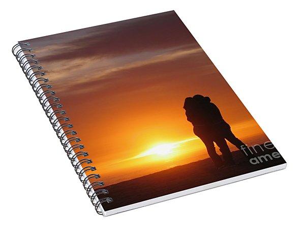 Sunset Cuddle Spiral Notebook