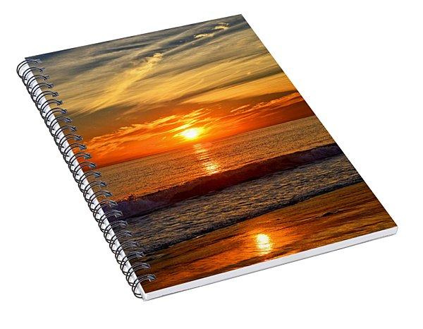 Sunset's Glow  Spiral Notebook