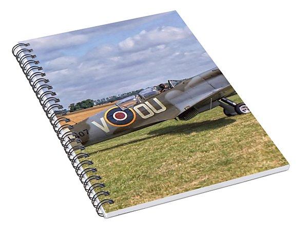Supermarine Spitfire T9 Spiral Notebook