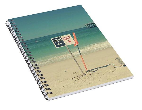 Swim And Surf Spiral Notebook