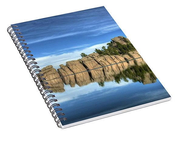 Sylvan Lake Reflections Spiral Notebook