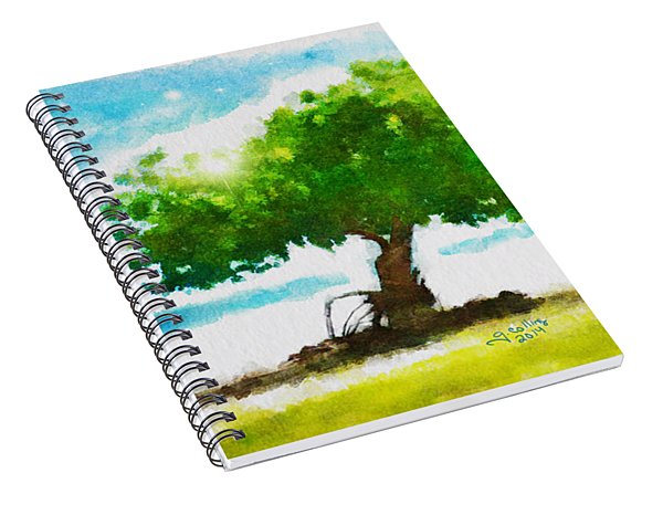 Summer Magic Spiral Notebook
