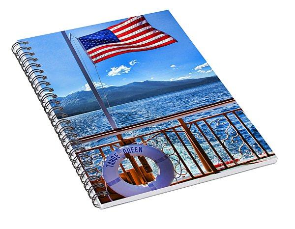 Tahoe Queen Lake Tahoe By Diana Sainz Spiral Notebook