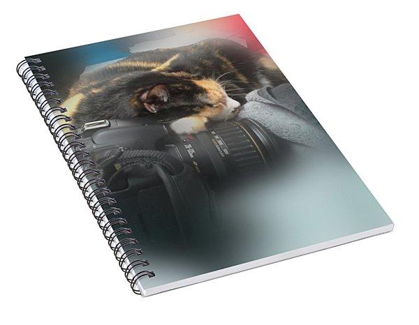 Taking A Break Spiral Notebook