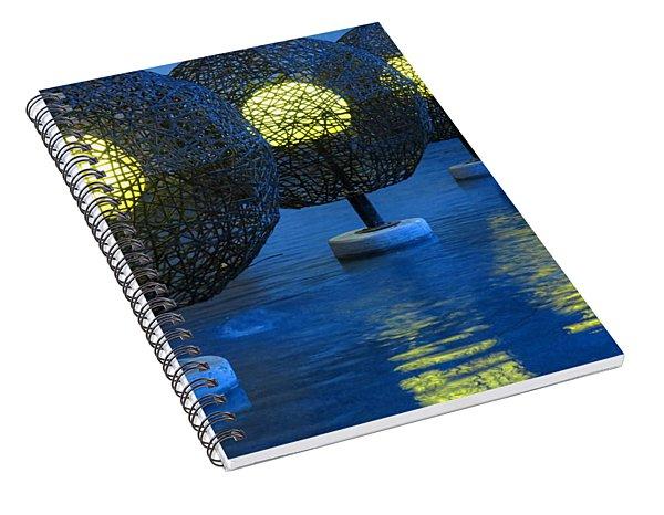 Tamarindo Reflections Spiral Notebook