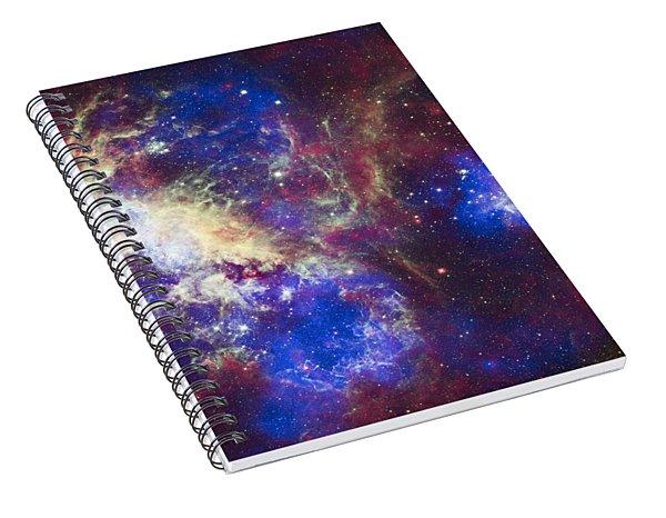 Tarantula Nebula Spiral Notebook
