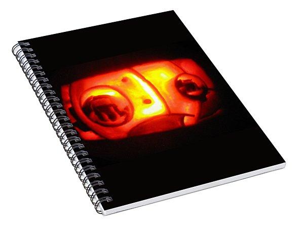 Tarboy Pumpkin Spiral Notebook