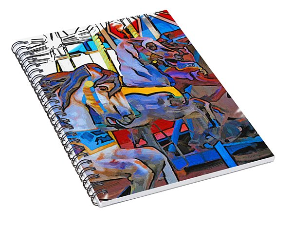 The Circle Game Spiral Notebook