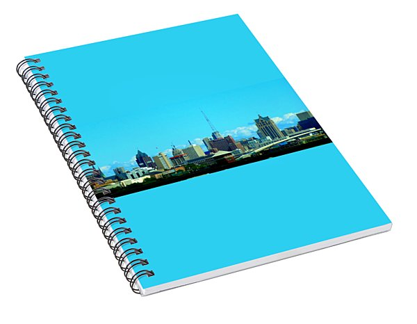 The City Of Festivals Spiral Notebook