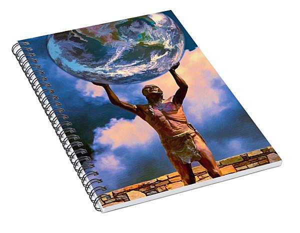 The Earth Is In Our Hands Spiral Notebook