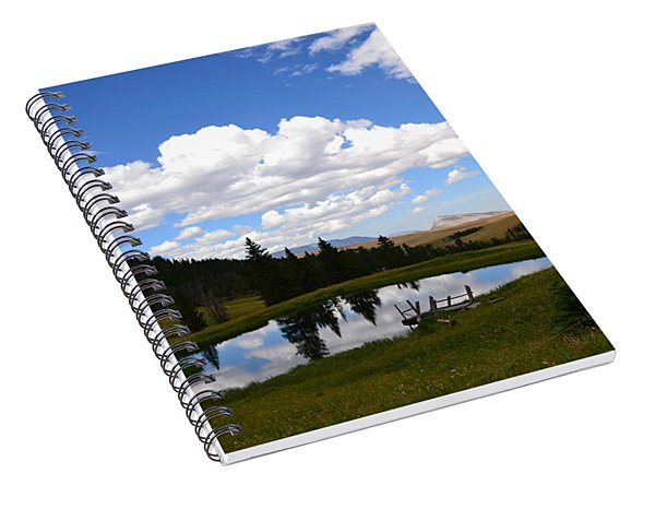 The Fishing Hole Spiral Notebook