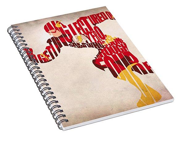 The Flash Spiral Notebook