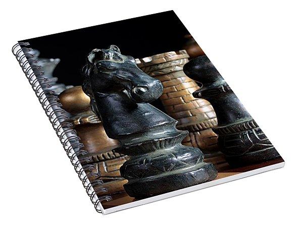 The Knights Challenge Spiral Notebook
