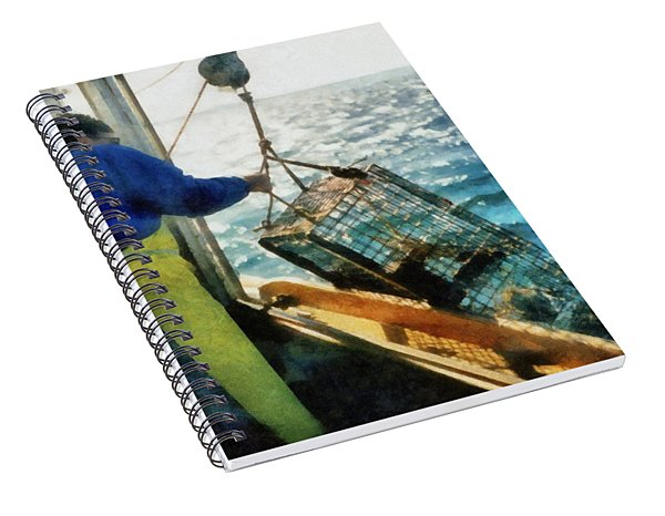 The Lobsterman Spiral Notebook