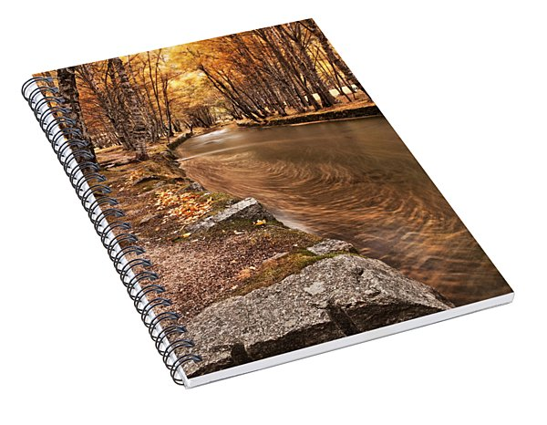 The Magic Of Fall Spiral Notebook
