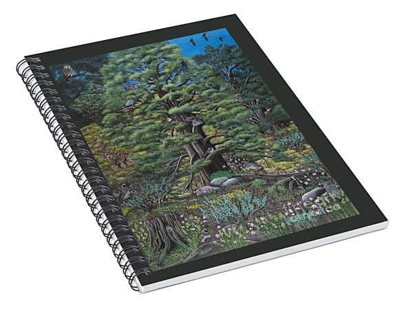The Old Juniper Tree Spiral Notebook