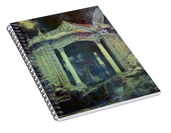 The Owl Spiral Notebook
