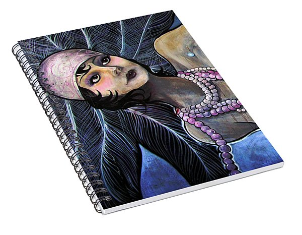 The Pearl Mermaid Spiral Notebook