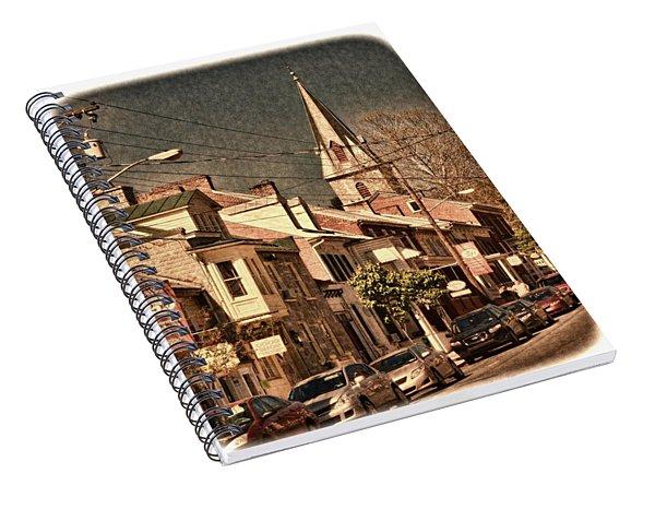 The Quintessential Semiquincentennial - Shepherdstown Wv  Spiral Notebook