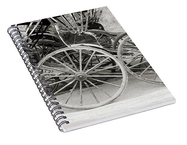 The Rickshaws Spiral Notebook