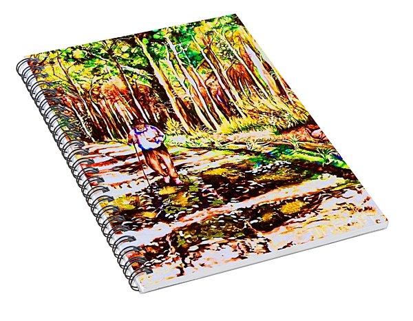 The Road Not Taken Spiral Notebook