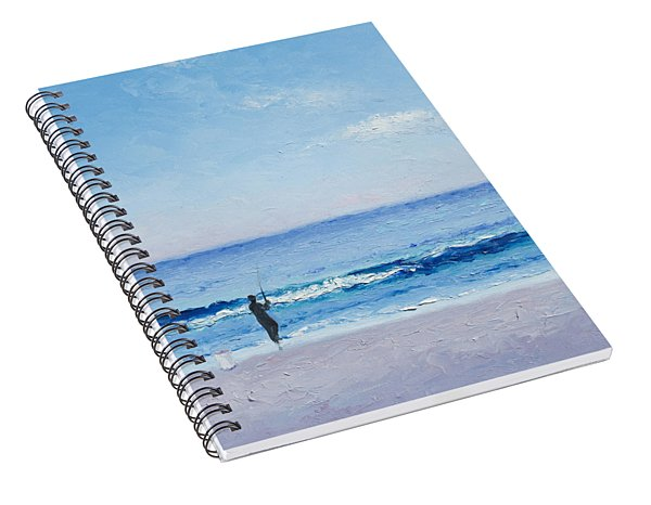 The Surf Fisherman Spiral Notebook