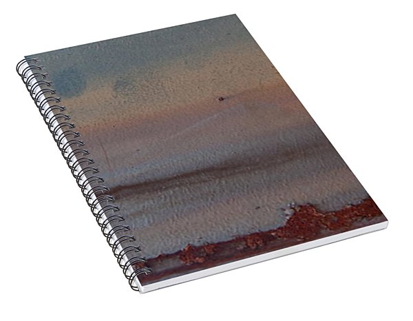 Spiral Notebook featuring the photograph The Tide Is Out by Jani Freimann