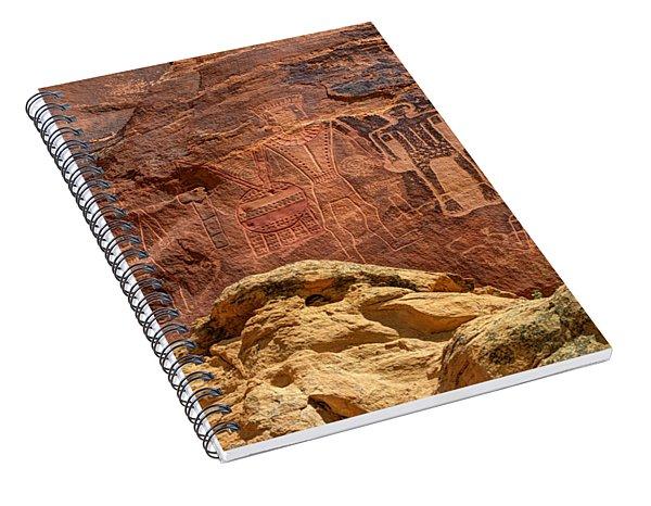 Three Kings Petroglyph - Mcconkie Ranch - Utah Spiral Notebook