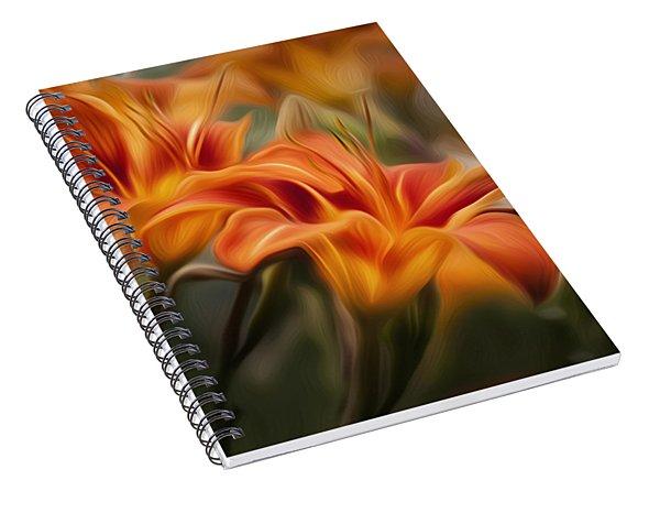 Tiger Lily Spiral Notebook