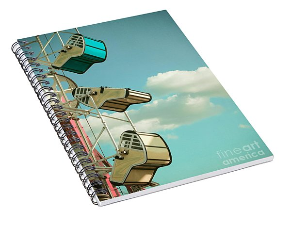 Tilt And Twirl Spiral Notebook