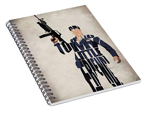 Tony Montana - Al Pacino Spiral Notebook
