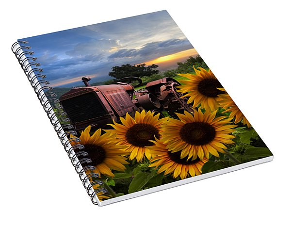 Tractor Heaven Spiral Notebook