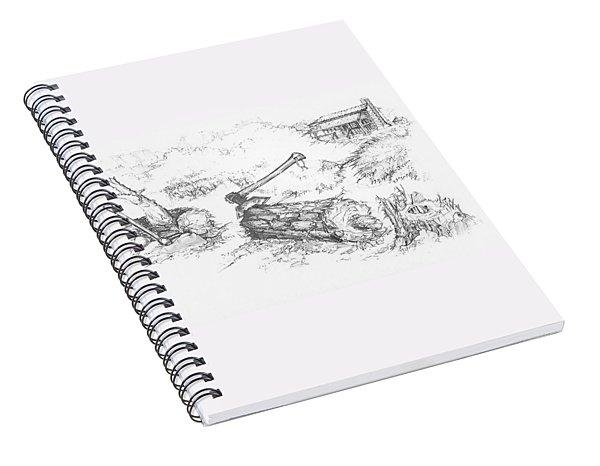 Trail Divides Spiral Notebook