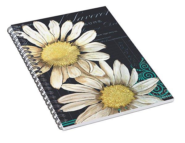 Tranquil Daisy 1 Spiral Notebook