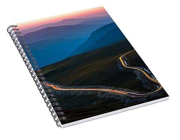Transalpina Spiral Notebook