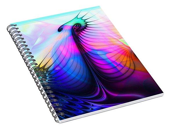 Tres Lunatics Spiral Notebook