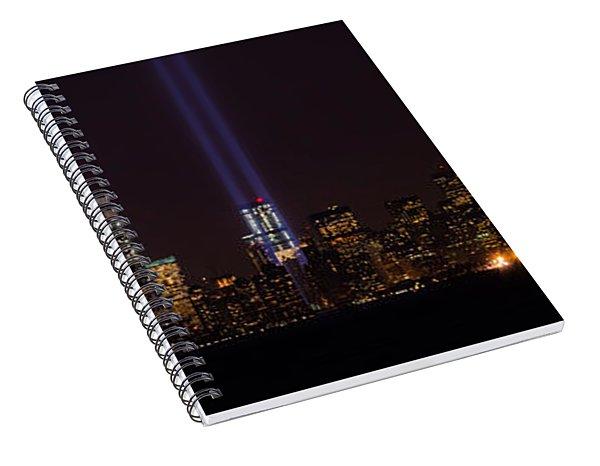 Tribute In Light 9.11 Spiral Notebook