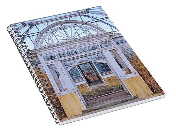 Triple Doorways Spiral Notebook