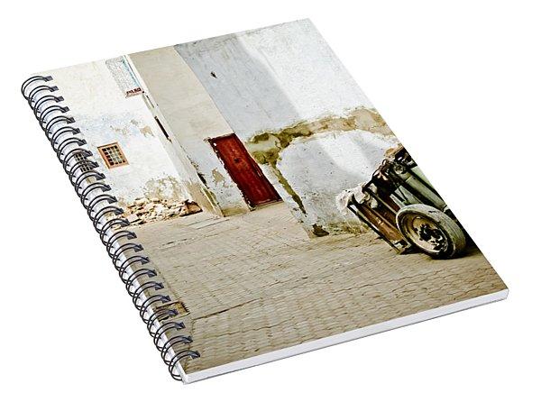 Tunisian Girl Spiral Notebook